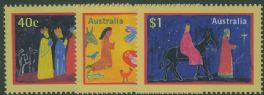 AUS SG1832-4 Christmas 1998 set of 3